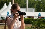 Fotografująca kobieta