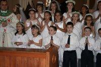 dzieci na I Komunii Świętej